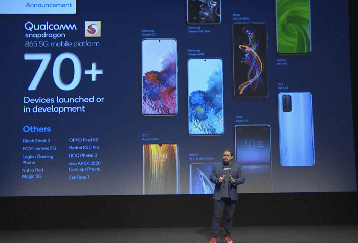 Qualcomm's Virtual MWC Event Reveals Big Wins for Snapdragon 865