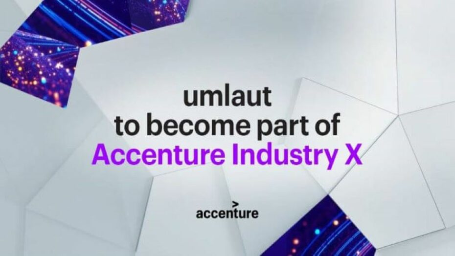 Accenture Accents Industry X Services Capabilities with umlaut Acquisition