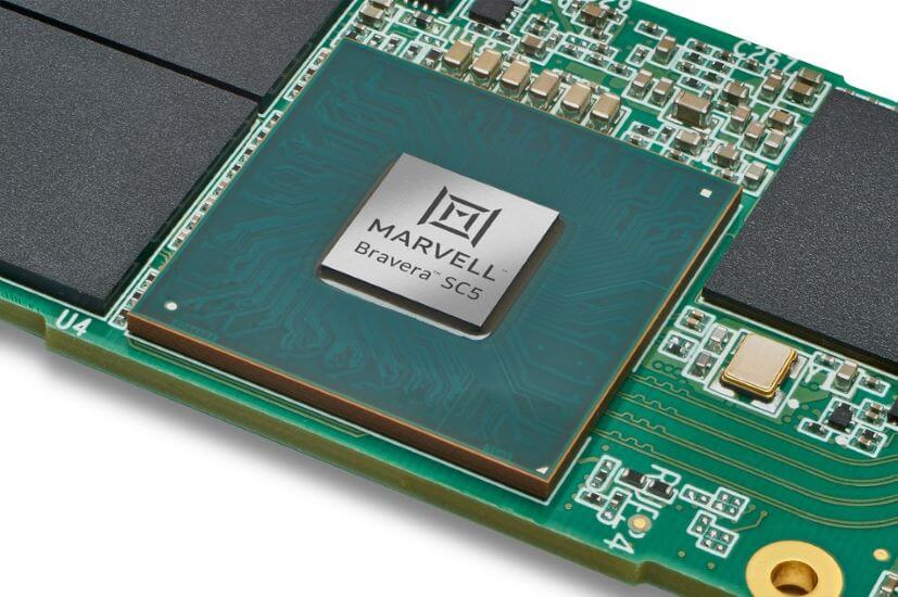 Marvell Takes Data Center Flash Storage to the Next Level with Bravera SC5 SSD Controller Debut