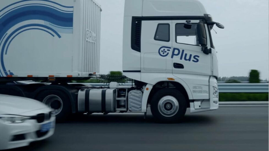 Plus Completes Driverless Semi Truck Demonstration on Public Roads