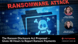 The Ransom Disclosure Act Proposed — Gives 48 Hours to Report Ransom Payments